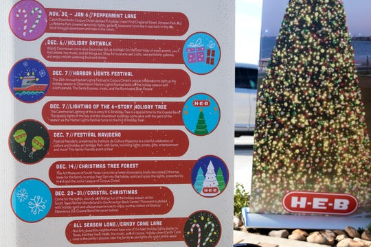 Visit Corpus Christi announced Merry Days by the Bay, which includes the second year of the H-E-B Holiday Tree, located on the Bayfront at Water's Edge Park, and community events throughout the city nearly every day of the holiday season.