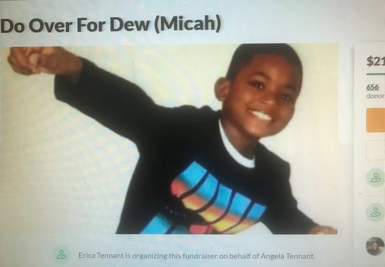 A Gofundme campaign is seeking to help the family of Micah Tennant, an Atlantic City boy fatally shot at a high school football game.
