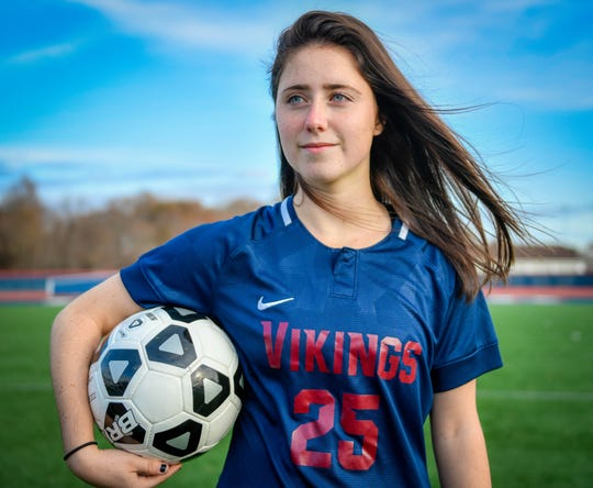 Eastern's Sara Brocious is the Courier-Post's 2019 Girls' Soccer Player of the Year.