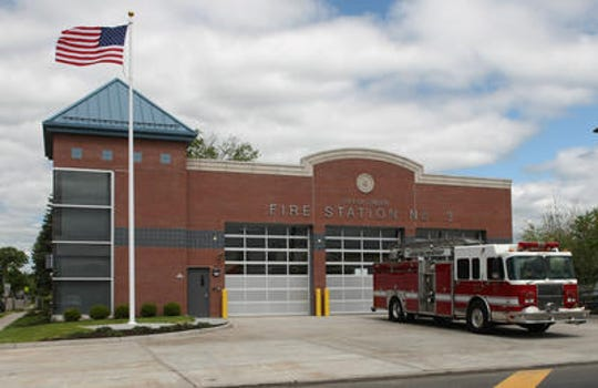 Linden Fire Station 3, one of four firehouses in the city