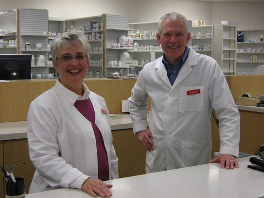A 2007 Register file photo of Deb and Steve Straw, Sun Pharmacy and Sarah's Hallmark Shop in Johnston.