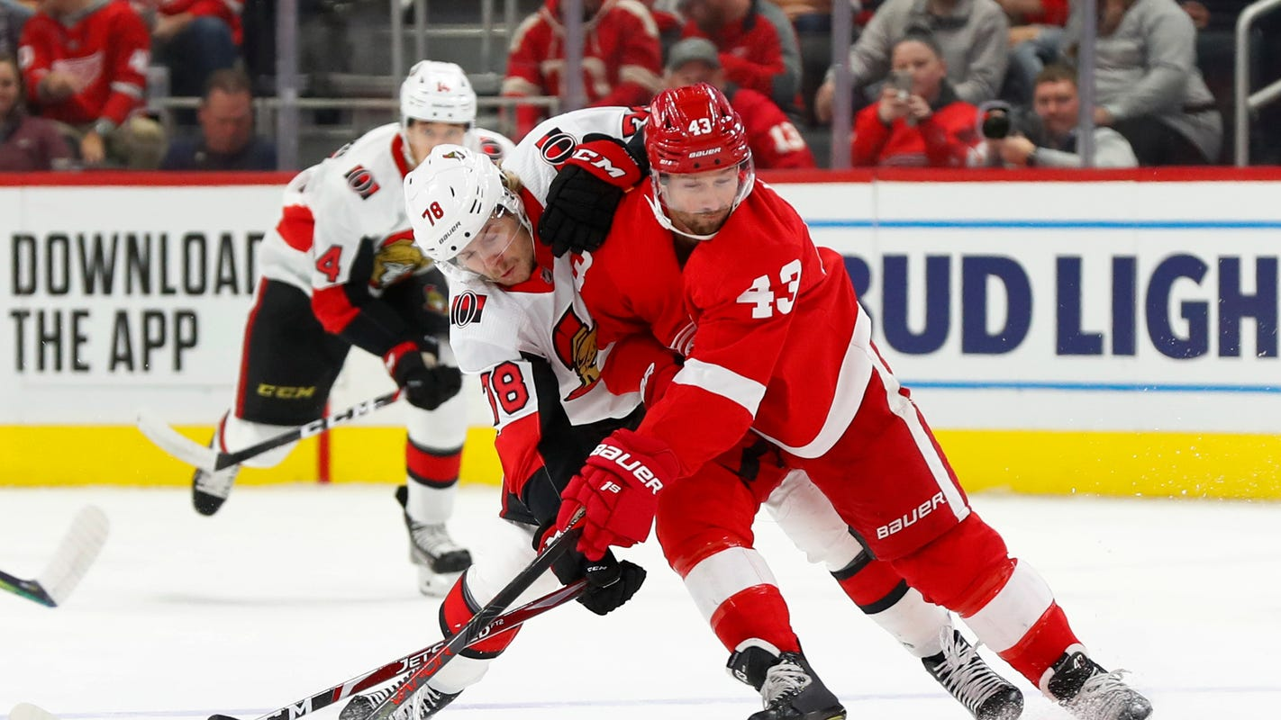 How Zetterberg, Draper are helping Detroit Red Wings stuck in 11-game losing streak