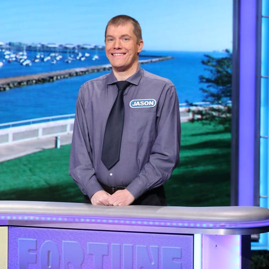"Ferndale native Jason Idalski on ""Wheel of Fortune,"" which aired Nov. 19."