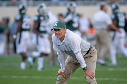 Offensive coordinator Brad Salem's contract with Michigan State is a rolling one-year deal.