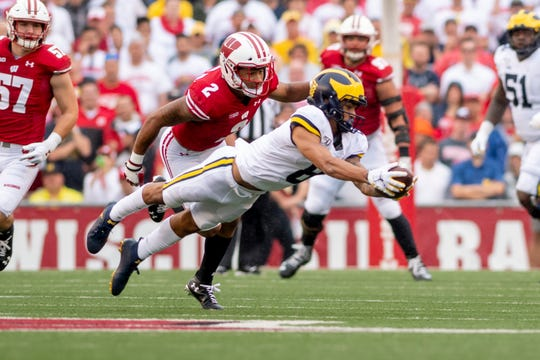Ronnie Bell may not have a TD this season, but he still leads Michigan in catches (37) and receiving yards (621) by a wide margin.
