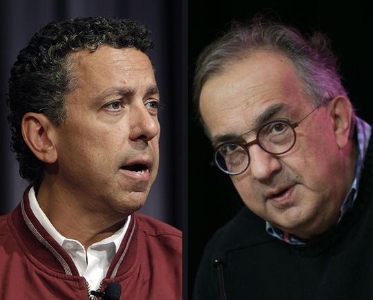 Alphons Iacobelli, left, and Sergio Marchionne
