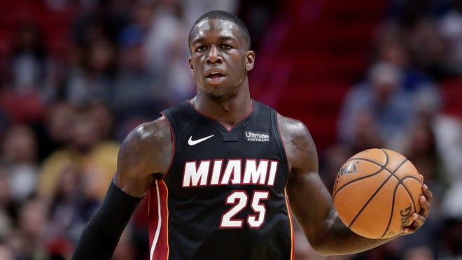 Miami Heat guard Kendrick Nunn