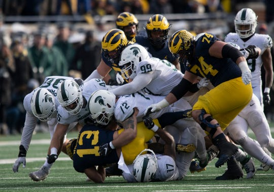 Michigan State's defense has not lived up to its early billing as once of Mark Dantonio's best.