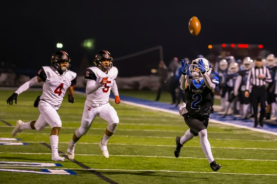 Walled Lake Western wide receiver Abdur-Rahmaan Yaseen