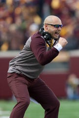 Head coach P.J. Fleck has Minnesota on the cusp of earning a berth in the Big Ten championship game.