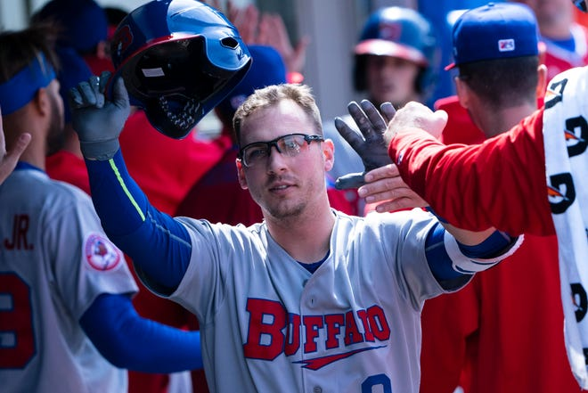 Rocky Mountain baseball grad Andy Burns was second on the Buffalo Bisons with 19 home runs and third with 63 RBIs in 2019.