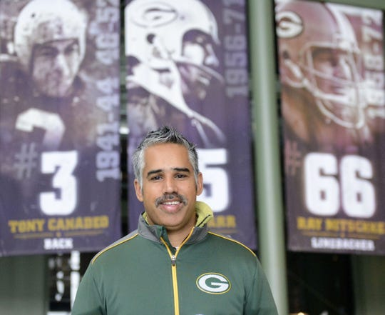 Jaz Singh, a permanent resident of Perth, Australia, and a temporary resident of Green Bay, has attended every Green Bay Packers and Wisconsin Badgers game this season, though Nov. 16. He plans on going to all of them in their 2019 seasons.