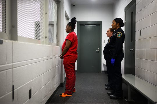 Kodesha Lyuna Bryson, 25, appears at Greenville County Bond Court Wednesday, Nov. 20, 2019. Bryson was denied bond for the alleged murder and possession of a weapon during a violent crime in the death of David Edens Jr.