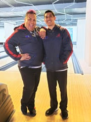 """Charlie """"Mama Char"""" Catbagan and Dorian Herrero from Team Dededo won bronze in the doubles event of the Asian Intercity Bowling Championships Nov. 12-20 in Ho Chi Minh City, Vietnam."""