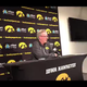 """Iowa coach Fran McCaffery on his team's shot selection (""""pretty good"""") and perimeter defense (""""wasn't good against DePaul""""). Hear his full comments:"""
