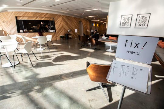 Fix! is pictured, Tuesday, Nov. 19, 2019, on the second floor at the Chauncey in Iowa City, Iowa.