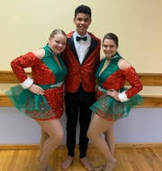 From left: Kassidy Payne, Ki Alve and Zoe Zavaski are among the 22 dancers from Karen Gorsky's Armstrong School of Dance who will perform at the Macy's Thanksgiving Day Parade.