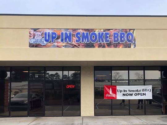 Up In Smoke BBQ officially closed for business on Wednesday, Nov. 6 due to lack of business.