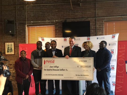 Twenty Lane College first-generation freshmen, known as Power of Potential Scholars, will be rewarded one-time $5,000 scholarships after Coca-Cola Foundation awarded the program $100,000 for first-generation students.
