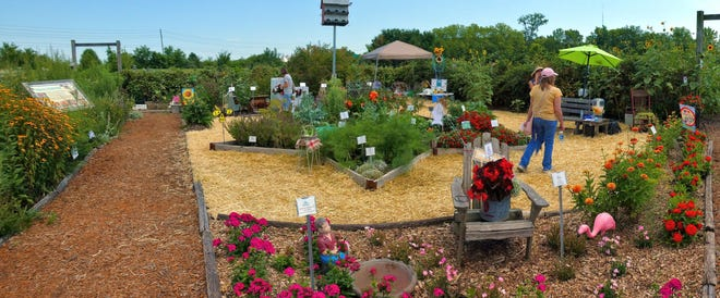 The All-America Selections Garden at the Tippecanoe County Extension Office received first place in the Category 1 AAS National Landscape Challenge.