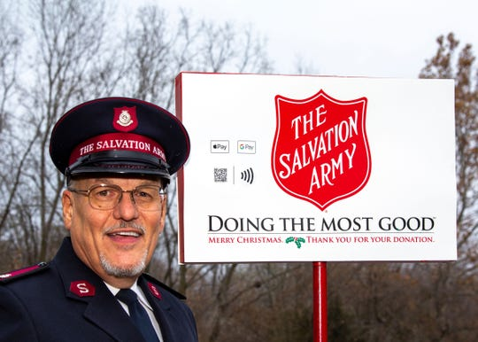 Starting Monday, donors to The Salvation Army in the Lansing region, can use their smartphones to donate via Apple Pay or Google Pay said Major Jim Irvine, The Salvation Army Capital Area coordintor.