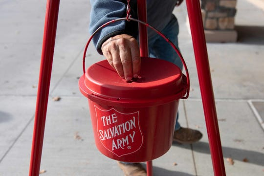 The Salvation Army's Red Kettle campaign starts Monday,  Nov. 25, 2019 in the Lansing area.