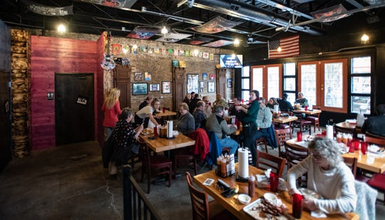 The new dining area at Meat Southern B.B.Q. & Carnivore Cuisine in Old Town pictured Wednesday, Nov. 20, 2019.