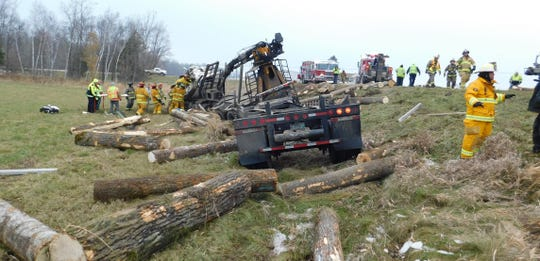 Scene of a fatal crash Nov. 19 at the intersection of County Road K and County Road W in the township of Maple Grove.