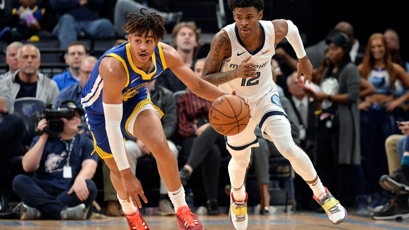 Golden State Warriors contained Ja Morant, and he still led the Memphis Grizzlies in scoring