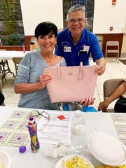 On Thursday, Nov. 14, the Knights of Columbus San Marco Council #6344 hosted a Bingo Night in the San Marco Parish Center. The Coach bag winner was Maryann Hennessy of Marco Island.