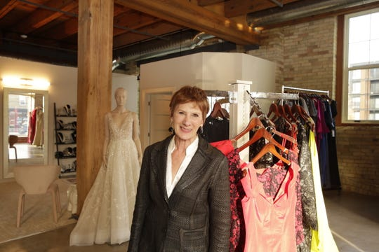 Beverly Berson stands in her boutique, Gigi, which recently moved from its longtime Mequon home to Walker's Point in Milwaukee.