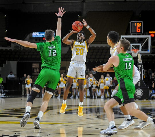 Senior guard Darius Roy leads UWM with a scoring average of 16.8 points and with 24 three-pointers.