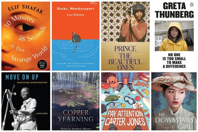 New books for holiday gift giving in 2019 include ones by Elif Shafak, Lucy Ellmann, Prince, Greta Thunberg, Aaron Cohen, Kimberly Blaeser, Gary D. Schmidt and Stacey Lee.