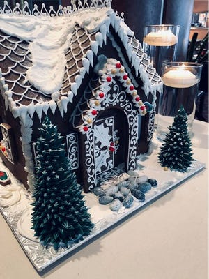 Pastry chef Brian Sobczak will again teach how to make gingerbread houses like this one from the 2018 workshop at Pastiche at the Metro, 411 E. Mason St. The 2019 workshops will be Dec. 8 and 15.