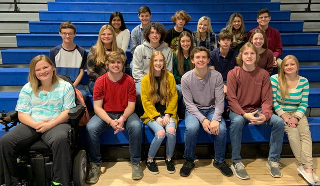 Cotter High School will hold its homecoming festivities this Friday beginning at 5:30 p.m. Homecoming court members include (front row, left to right) Kaylee Ferguson, Zach Altenbaumer, Gabby Balmer, Tucker Coots, Trevor Reese, Bethany McBee, (second row, left to right) Ethan Franks, Hailie Chastain, Austin Cox, Carlie Williams, Jeffry Haynes, Afton Massey, (third row, left to right) Mai Tathong, Hayden Hutson, Hudson Adams, Ashlyn Cordell, Destiny Parker and Sam Stevenson.