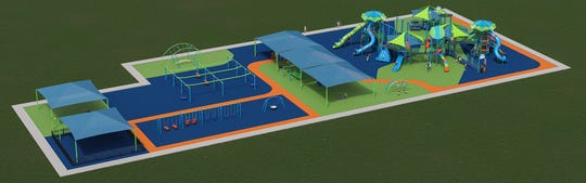 A rendering of Miracle Park.