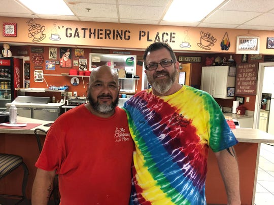 Tony Clark and his husband Shawn Leiva own Fort Myers restaurant The Gather Place.