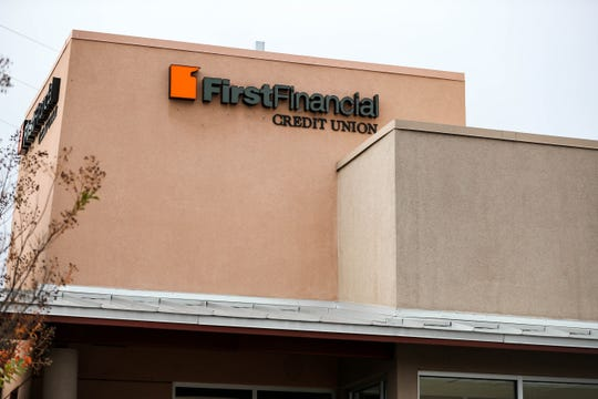 First Financial Credit Union in pictured in Las Cruces on Wednesday, Nov. 20, 2019.