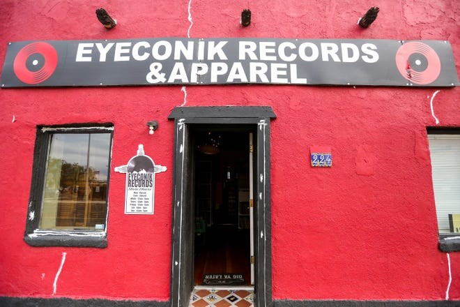 Eyeconik Records and Apparel is pictured in Las Cruces on Wednesday, Nov. 20, 2019.