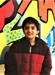 Neil Singh is student of the month at White Mountain Elementary.