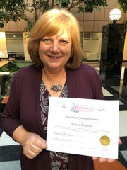 Susan Choma of Novi is a certified member of the General Society of Mayflower Descendants. She is related to William Bradford, a pilgrim who became the first governor of Massachussetts.