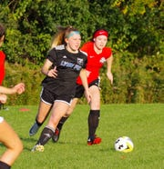 Sophia Ohland is one of 10 seniors that played for South Lyon FC.