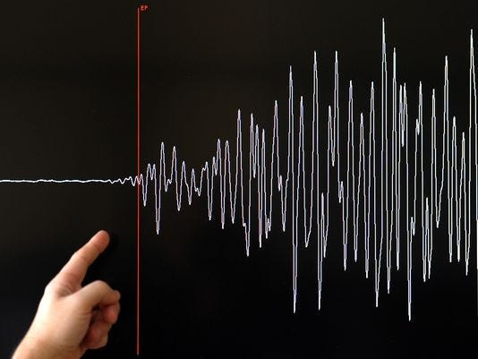 A 3.3-magnitude earthquake shook portions of the Coachella Valley on Friday, April 17.