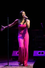 Renée Elise Goldsberry wows the crowd.
