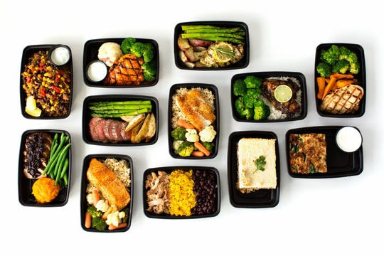 A variety of Healthy Coast Meals grab-and-go meal options. The third Healthy Coast Meals location in Northwest Florida should open no later than early December in downtown Pensacola.