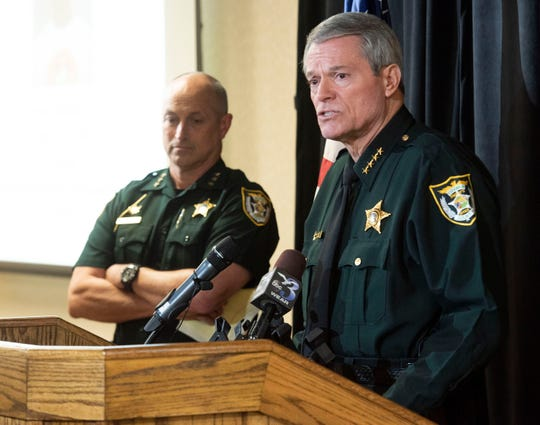 Escambia County Sheriff David Morgan talks Wednesday about a recent rash of shootings and his agency's internal taskforce to curb gun violence.