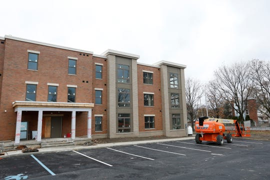 Hudson River Housing's Fallkill Commons, an affordable housing project in the City of Poughkeepsie on November 20, 2019.