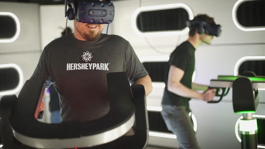 Hyperdeck will give multiple players a chance to try virtual reality with multi-sensory effects.