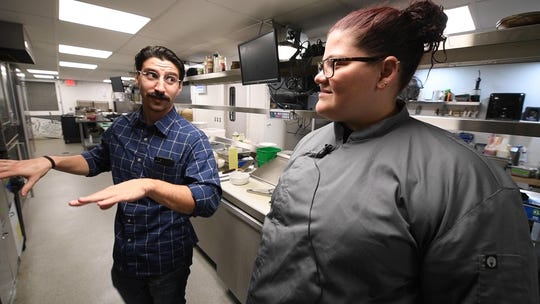 'In the Kitchen' visit at Greystone Brew House on Tuesday, Nov. 12, 2019. The restaurant series aims to highlight how some notable central Pa. dishes are made.