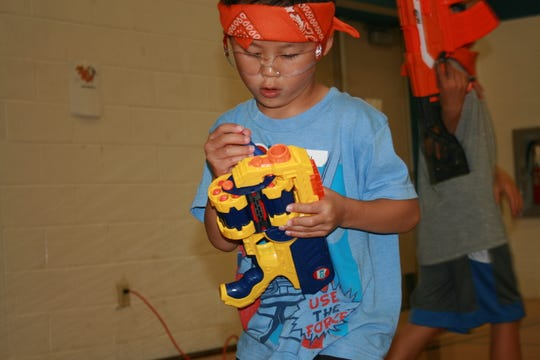 Kids at the York JCC enjoying an activity during one of the classes.